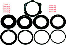 Wide angle P Holder,Ring 49mm 52mm 58mm 62mm 67mm 77mm 82mm fo Cokin P-series,US