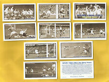 cigarette/trade cards Rockwell - SPURS 1960 - 1963 THE GLORY YEARS Full mint set