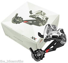 SRAM XX LONG CAGE Rear Derailleur for 2x 10 Speed MTB Bike Carbon Fiber Ceramic