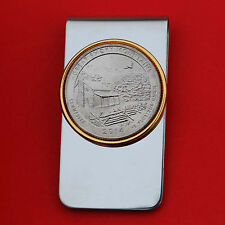 US 2014 Tennessee Great Smoky Mountains National Park BU Quarter Coin Money Clip