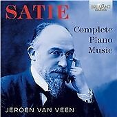 SATIE: COMPLETE PIANO MUSIC NEW & SEALED