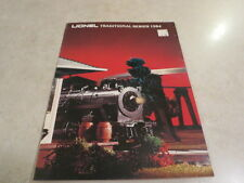 Lionel Trains 0/0 27 Traditional Series 1984 Catalog  FREE SHIPPING