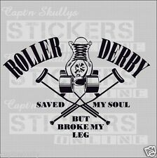 ROLLERDERBY SMS DECAL 280x190mmCapt'n Skullys Stickers Online MPN 2025 M/PURPOSE