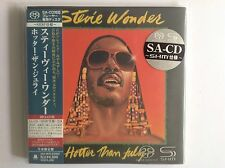 Stevie Wonder: Hotter Than July Japan Mini LP SACD - Sealed