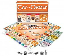 CatOpoly Monopoly Board Game by Late for the Sky, New, Free Shipping
