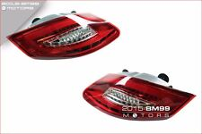 CLEAR / RED LED TAILLIGHTS TAIL LIGHTS FOR 05-08 PORSCHE 987 CAYMAN BOXSTER