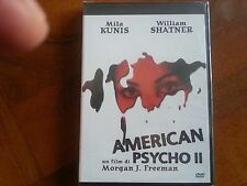 AMERICAN PSYCHO II  DVD NUOVO