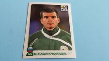 2010 PANINI SOCCER WORLD CUP ALEKSANDAR RADOSAVLJEVIC STICKER #249