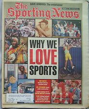 1995 THE SPORTING NEWS WHY WE LOVE SPORTS JOE DIMAGGIO
