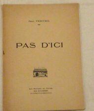 BEL HOMMAGE AU PAYS BEAUJOLAIS  écrit en exil par Jean Vercueil