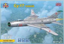 SUKHOI SU-17 (EARLY)  MODELSVIT PLASTIC KIT 1/72
