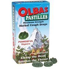 Olbas Pastilles - Maximum Strength Herbal Cough Drops 27 ea (Pack of 6)