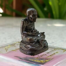 THAI AMULET BUDDHA LP THUAD WAT CHANG HAI SERIES RUAY MAHASETTEE BE.2557 LUCKY