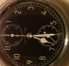 Vintage WWII Hamilton Chrongraph pocket watch, model 23, excellent condition