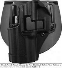BlackHawk CQC Serpa Holster fits Springfield XDM or XD 3.8 410507BK-L Left Hand