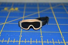 "1:6 scale Dark Tinted Tan Beige Goggles Eyewear for 12"" Action Figures C-199"