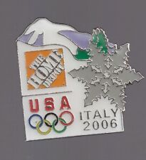 2006 Home Depot Olympic Pin Torino USA USOC Team