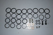 KAWASAKI ZX12R ZX9R ZX6R TOKICO 6 pot Front Caliper X2 Seal Kit FULL REPAIR KIT