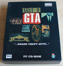 GTA 1 Grand Theft Auto (PC, 1997, Big-Box)