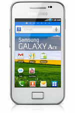 New Samsung Galaxy Ace S5830i WHITE Andriod 3G Sim Free Unlocked Mobile Phone