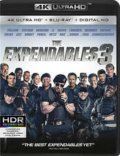 The Expendables 3 (DVD, 2016, Ultra HD Blu-ray)