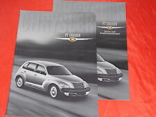 Chrysler PT Cruiser Classic Touring Limited folleto de 5/2001