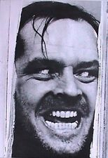 THE SHINING MOVIE POSTER Jack Nicholson Here's Johnny