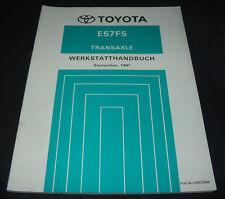 Werkstatthandbuch Toyota Corolla AE 104 / CE 104 Schaltgetriebe E57F5 09/1991!