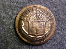RARE CONNECTICUT BRASS STATE SEAL MILITIA 5/8 DOMED BUTTON MARKED BOYLAN & CO