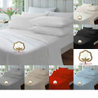 100% Egyptian Cotton Extra Deep Fitted Sheets 40CM 16 Inch Sheets