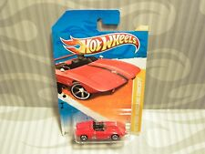 2010 HOTWHEELS ''NEW MODELS'' #28 = `62 FORD MUSTANG CONCEPT = RED h