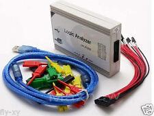 100MHz 16CH,250MHz 8CH PC USB Logic Analyzer with support I2C SPI UART and PWM