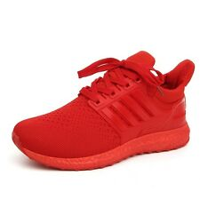 Red Men's Casual Sneakers Sports Shoes Running Athletic Outdoor Breathable US9.5