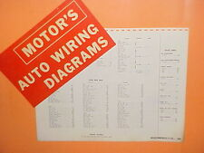 1961 1962 1963 1964 1965 OLDSMOBILE F-85 CUTLASS 442 CLUB COUPE WIRING DIAGRAMS