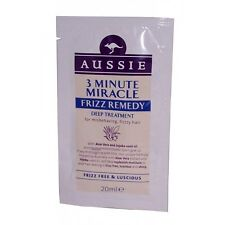 6 x  Aussie 3 Minute Miracle FRIZZ Remedy Deep Treatment SACHET 20ml
