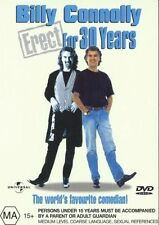 Billy Connolly Erect For 30 Years New DVD Region 4 Sealed