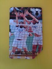 Volleyball Filaforum di Assago 1998, Collectable Used Italian Phone Card