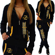 Ladies Leisure Suit Jogging Pants Jacket Trackies Fitness Tracksuit ZIP NEW