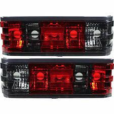 Rear Light Tail Light Set red smoke black for Mercedes 190E W201 Built 82-93