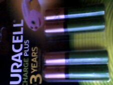 4 x 2 Duracell AAA 750 mAh Rechargeable Batteries NiMH New Sealed free postage