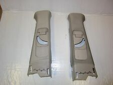 07 ACURA TL TYPE S OEM INTERIOR TAN/CREME B PILLAR COVER TRIM PANEL PAIR