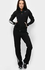 NIKE women black training track suit 453134 010 tuta completa donna nera S BNWT
