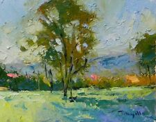 JOSE TRUJILLO Impressionism Signed Oil Painting Handpainted