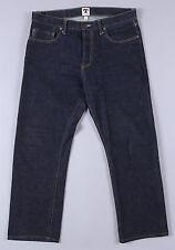 Tellason Ankara Straight Leg Jeans 34 x 28 Selvedge Denim