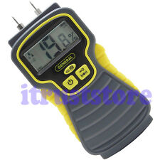 DIGITAL ELECTRONIC MOISTURE METER READING GAUGE GAGE WATER LEAK DETECT DETECTOR