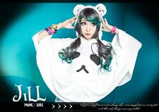 japan Lolita cartoon fantasy Picasso Chinese Panda hoodie poncho white JCE0007