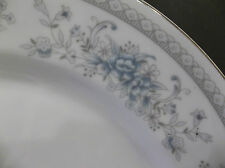 American Limoges Salem Heritage Bridal Bouquet 1 DINNER PLATE BLUE FLOWER 10""