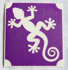 GT128 - Body Art Temporary Glitter Tattoo Stencil - Lizard Gecko Lizards