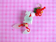 CHINESE JADE ZODIAC ANIMAL SIGN ROOSTER PENDANT NECKLACE NEW YEAR BIRTHDAY PARTY