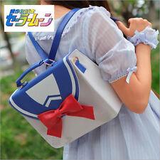 Anime Sailor Moon White Blue JK School Shoulder Bag Backpack Handbag 3 Usage New